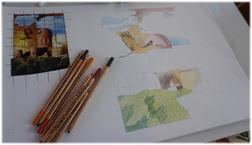 ou crayons de couleur